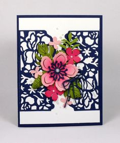 Stampin Up Floral Phrases and Botanical Blooms card by Kristi…