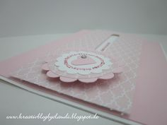 Kreativ Blog by Claudi: Baby-Kullerkarten