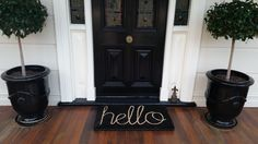 We love Janine's front door! #collectcreatedecorate