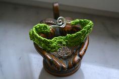 Armbänder - Armband mit Lotusanhänger - ein Designerstück von wollkaethe bei DaWanda