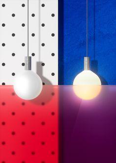 """Punct"" lamp by Wishnya Design Studio"