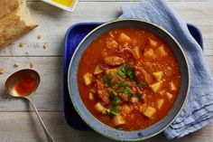 A Spanish-inspired soup to add some flavour into your life. Best enjoyed with friends and family.