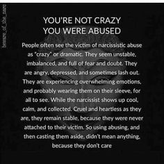 Teaching Narcissism/Abuse (healing process & surviving) This is so true! But so many people are still standing by me. Thank you God Narcissistic People, Narcissistic Mother, Narcissistic Abuse Recovery, Narcissistic Behavior, Narcissistic Sociopath, Narcissistic Personality Disorder, Narcissist Victim, Sociopath Traits, Abusive Relationship