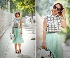 pleated-skirt-asos-checked-shirt-asos-fashion-blogger-galant-girl