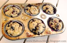 NO SUGAR ADDED- Healthy Blueberry Muffins
