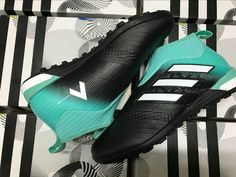 buy popular 6d0ca 82911 2018 FIFA World Cup Russia Adidas Ace Tango 17+ Purecontrol TF Black Energy  Aqua White