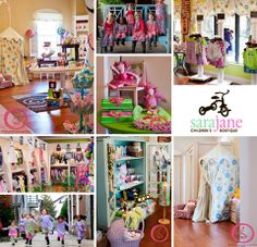 Sara Jane Children's Boutique..possibly some layout ideas..- this is really neat- I found this pin on another site!! it's Sara Jane's shop