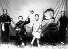 Chinese Orchestra and Accompaniment in 1920