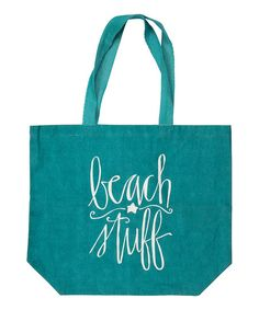 Primitives by Kathy Beach Stuff Tote | zulily. $22.99