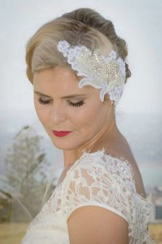 Vintage Bridal Hair and Makeup By Ali's Makeup Station. #Vintage #Makeup #Bridalmakeup #Bridalhair by www.makeupstation.co.nz