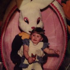 Sufficiently creepy Easter bunny.