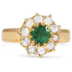 Emerald and diamonds!!!