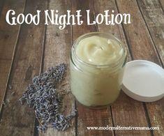 good night lotion edit