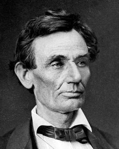 A. Helser photographed Lincoln in 1860.