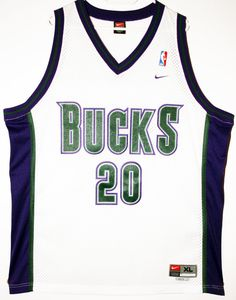 Nike NBA Basketball Milwaukee Bucks #20 Gary Payton Trikot/Jersey Size 48 - Größe XL - 69,90€ #nba #basketball #trikot #jersey #etsy #sport #fitness #fanartikel #merchandise #usa #america #fashion #mode #collectable #memorabilia #allbigeverything