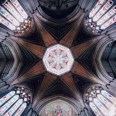 Plafond Cathédrale, Ely, England