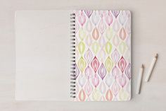 Organic Leaves Notebooks by Bethania Lima at #Minted