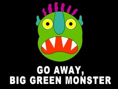 Go away big green monster, easy slideshow story Class Activities, Preschool Lessons, Preschool Ideas, Teaching Ideas, Monster Theme Classroom, Classroom Themes, Big Green Monster, Cycle 2, Teacher Books