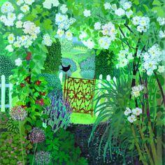 In an English Country Garden by Sheila Smithson