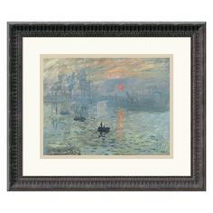 Impressions at Sunrise, 1873 Framed Wall Art - 17.68W x 15.18H in. - DSW114883