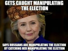 In Hillary's world, there's no narrative that she can do wrong, or even take the blame, or suffer the consequences even when does do wrong.