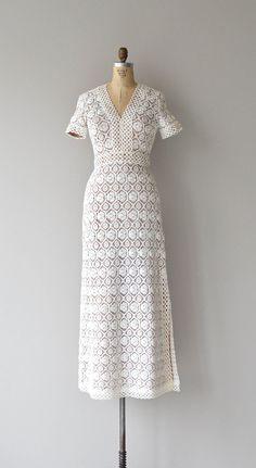 Love Story dress 1960s wedding dress vintage by DearGolden