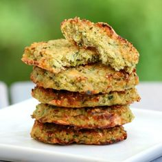 Cheesy Zucchini Quinoa Fritters by Southern In Law