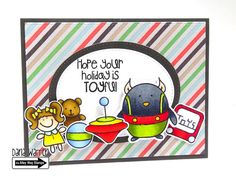 The Alley Way Stamps - Dana Warren - TAWS, Clear Stamps, Cards - Penguins on Parade, Everyday's a Holiday, Toyland
