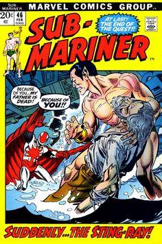 Sub-Mariner 46 - Gil Kane cover