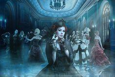Spirits' Masquerade by ChristabelleLAmort.deviantart.com on @deviantART