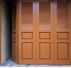 Steel Gate Design, House Gate Design, Slider Door, Water Storage Tanks, Wood Doors, Windows And Doors, Jakarta, Wood Furniture, Tall Cabinet Storage