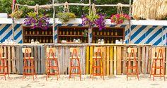 ruschmeyer's outdoor bar in montauk.