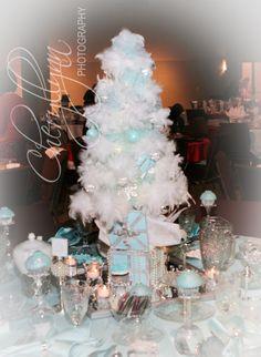 Tiffany Feather Christmas Tree