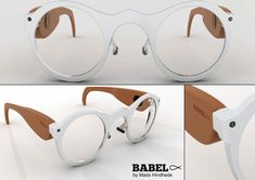 Etiketler: Babelfisk, Gadget In case you're getting lazy in classes these wonderful glasses will give you some help. They have two microphones that can be directed to where someone is speaking and you have text and audio recorded into a flash drive. Unique Gadgets, Cool Gadgets, Cool Technology, Technology Gadgets, Wearable Technology, Hearing Aids, Hearing Impaired, Electronics Gadgets, Toner Cartridge