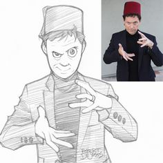 Artist Turns Portrait Photos Into Anime and Disney Character Sketches