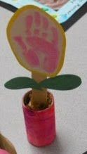 Mother's day craft flower