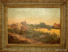 Oil on Canvas Painting by French Artist Lucas de Montigny (1844-1908)