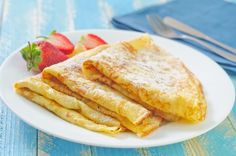 Paleo for Breakfast: A Deliciously Easy Paleo Crepes Recipe easy paleo lunch Breakfast Crepes, Homemade Breakfast, Paleo Breakfast, Best Crepe Recipe, Crepe Recipes, Sweet Crepes Recipe, Paleo Recipes, Cooking Recipes, Family Fresh Meals