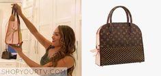 Nikki-Bella-LV-bag  shopping bag by Christian Louboutin (celebrating monogram). Sold out.total divas
