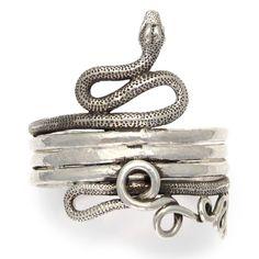 Roman Serpent Cuff - Daniel GIBBINGS Jewelry