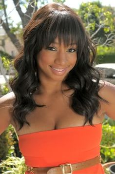 monique coleman is so pretty. I love her bangs
