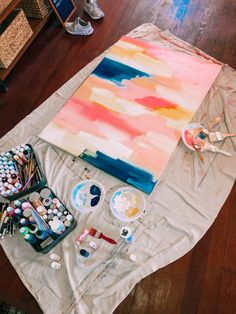 The Beverly, Paint Ideas, Painting, Painting Art, Paintings, Painted Canvas, Drawings, Idea Paint
