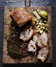 Traditional Roast Pork with Crackling and Applesauce (Recipe) - Hudson Valley Magazine - March 2013 - Poughkeepsie, NY