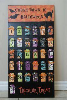 Glue guns and spatulas: Count Down to Halloween
