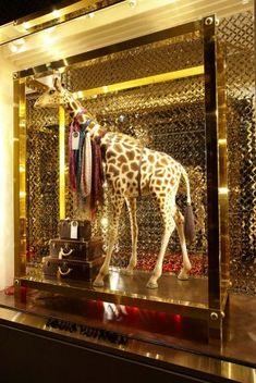 Louis Vuitton: New Bond Street Opening Collector Windows