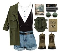 """""""Untitled #93"""" by roxeyturner ❤ liked on Polyvore featuring Osklen, Dr. Martens, Topshop, Retrò, Polaroid and River Island"""