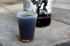 The Silishot is a shot glass made of silicone, unbreakable and can resist all your late night debauchery.