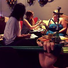 Good friends good times @ lone_star_hookahs #adultcoloringbook meet-up tonight! Everyone is welcome @ 104B E 31st Street.  #lone_star_hookahs #atx #austin #austintx #sxsw #hookah #hookahs #shisha #nightlife #texas #thingstodoinaustin #austinnightlife #chill #midweektreat #humpday #coloringbook by lone_star_hookahs