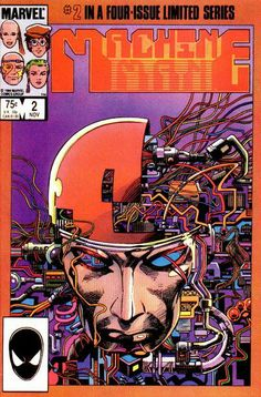 Barry Windsor Smith Cover for Machine Man (1984 series) #2