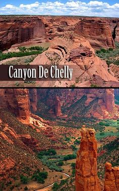 Canyon de Chelly - Spider Rock.  Zwei riesige 240 Meter hohe und imposante Felsen. Felsen, die wie zwei aufrechtstehende Nadeln aussahen und die gesamte Gesteinslandschaft überragten. Laut der Mythologie des Gestaltwandlers Michael und seines Volkes wohnt dort oben in den Kuppeln der Felsnadeln Iktomi, die Spinnenfrau. Sie brachte den Indianer- Stämmen das Weben bei und wird darum auch heute noch von allen Indianern hoch geachtet.